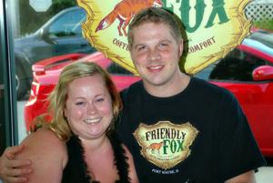 Kendra and Dan Saurer